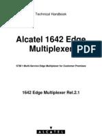 Alcatel 1642 Edge Mulitplexer REL2.1 Technical Handbook
