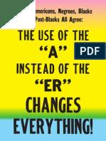 Black Is, Black Aint Exhibition Poster
