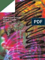 Katharina Grosse Exhibition Poster
