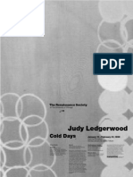 Judy Ledgerwood Exhibition Poster