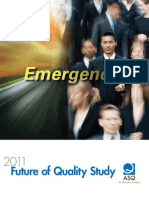 2011 Future of Quality Study