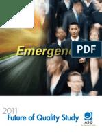 2011 Future of Quality Study