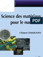 Lemaignan_ScienceDesMateriauxPourLeNucleaire_2004