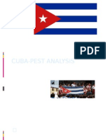 Cuba Pest Analysis