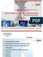 [Presentation] Shankir - Review of Wind Turbines' Drive Systems and why Gearless Direct Drive