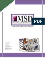 Market Analysis of MSD