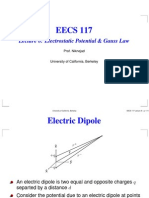 Lecture 8 Electrostatic Potential & Gauss Law