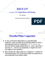 Lecture 11 Capacitance and Energy