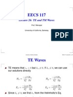 Lecture 26 TE and TM Waves