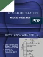 22 - Staged Distillation