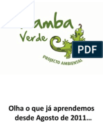 Aprendizado - Kamba Verde