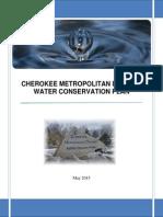 Cherokee Water Conservation Plan