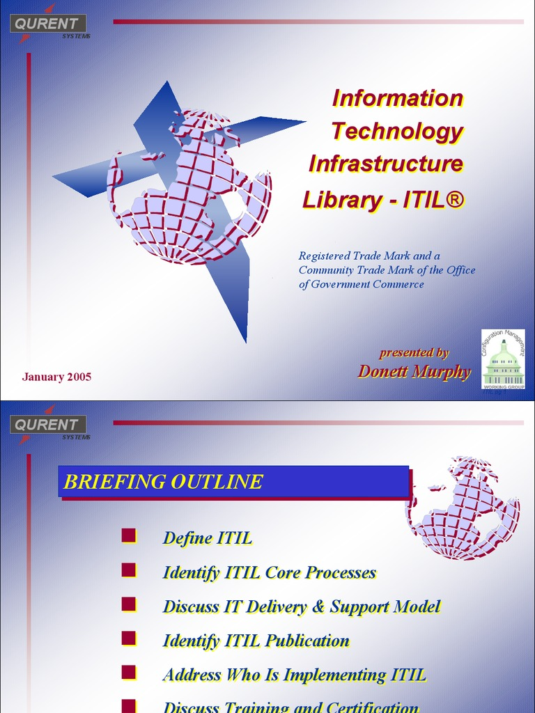 Itil V3 01 Service Lifecycle Introduction Itil Itil It
