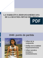 Narrativa hispanoamericana
