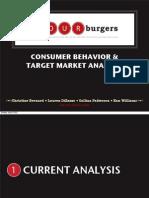Consumer Behavior & Target Market Analysis