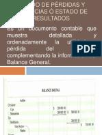 ESTADO DE PÉRDIDAS Y GANANCIAS