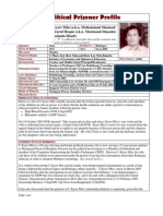U Kyaw Min's Profile, prepared by the Assistance Association for Political Prisoners (Burma)