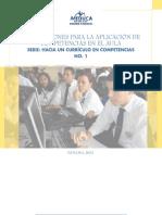 ORIENTACIONES PARA LA APLICACION DE COMPETENCIAS EN EL AULA. PANAMA MEDUCA