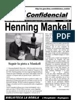 L'H Confidencial, 24. Henning Mankell