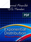 Exponential Distribution Theory and Methods