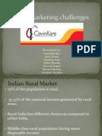 Rural Marketing Challenges