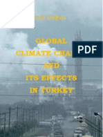 Global Climate Change and Its Effects in Turkey