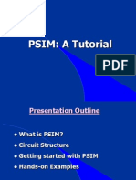PSIM Tutorial