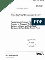 NASA Technical Memorandum 74109