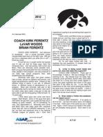 Coach K Ferentz B Ferentz L Woods 3 7 12