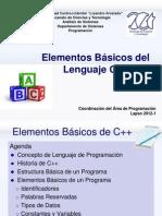 1-Elementos Básicos del Lenguajes