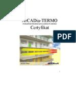 Poradnik Projektanta-Certyfikat Energetyczny