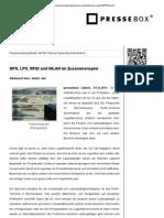GPS, LPS, RFID und WLAN im Zusammenspiel