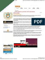 02-03-12 Urgente Gobierno Promotor Del Crecimiento - Economistas