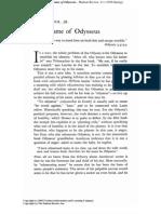 Name of Odysseus