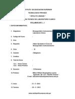 1.Syllabus Bioseguridad e UIbnstrumentacion en Lab Oratorio - Primera Partexxx