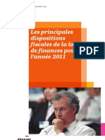 Pwc.ma Note Loi de Finances 2011