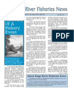 Spring 2005 Fisheries Newsletter, Kings River Conservation District Newsletter