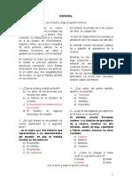 EXAMEN DE CONOCIMIENTOS SEXTO GRADO. PRIMARIA
