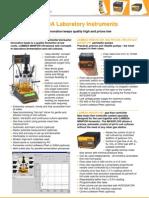 LAMBDA Laboratory Instruments_Product Overview