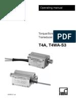 Datasheet T4WA S3