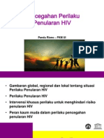 Pandu Riono Pencegahan Perilaku Penularan HIV