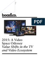 BoozCo 2015 Value Shifts TV Video Ecosystem