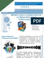 Modelo para la producción de un Medio Didáctico Computarizado