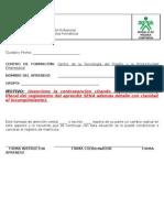 F08-2510-003 Llamado de Atencion