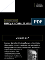 Enrique Gonzalez Martinez