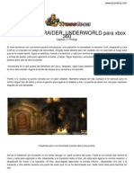 Guia Trucoteca Tomb Raider Underworld Xbox 360