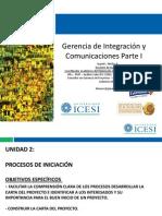 Unidad 2 - P. Inicio - GIntegracion-GComunic-DPGP