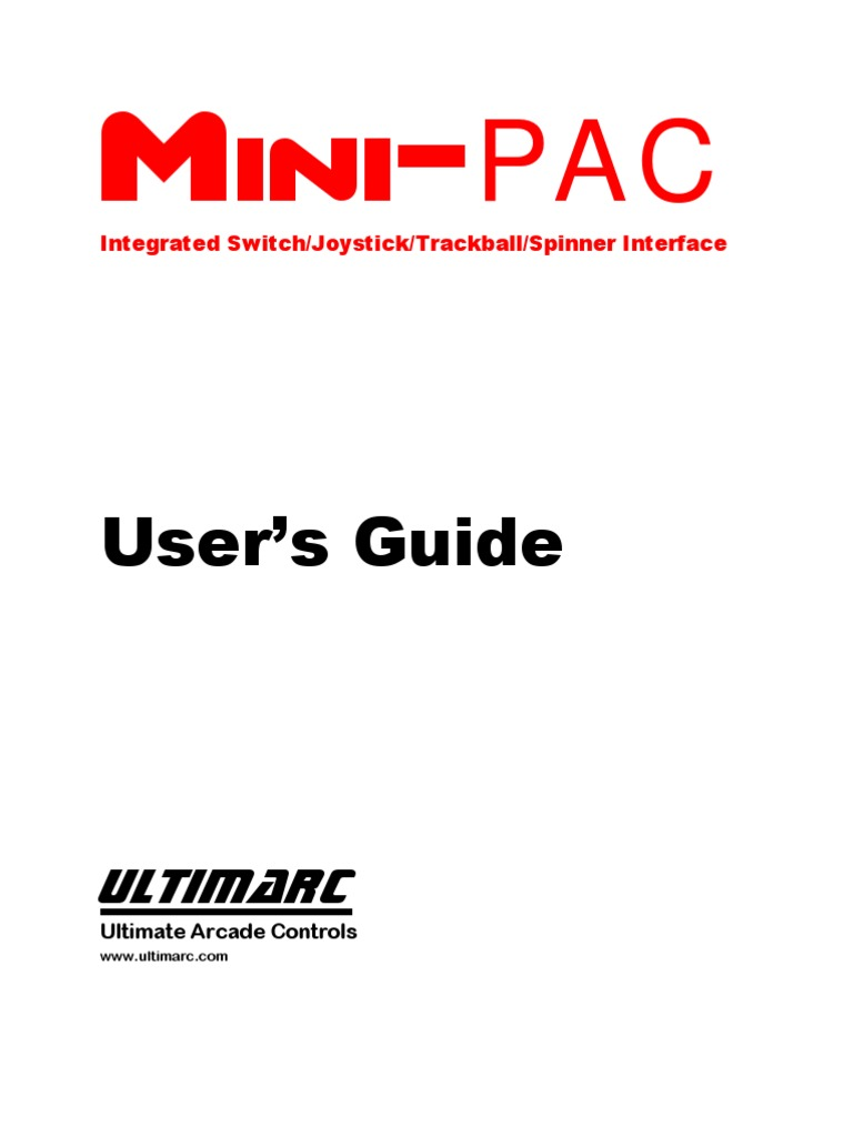 Mini PAC Manual1 | Electrical Connector | Bios