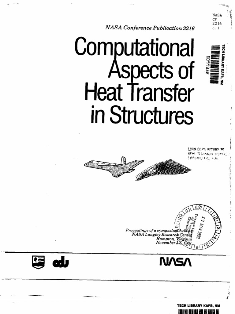 [Text] Computational Aspects of Heat Transfer in