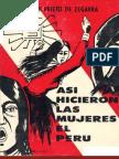 """De """"Así hicieron las mujeres el Perú"""" por Judith Prieto de Zegarra"""